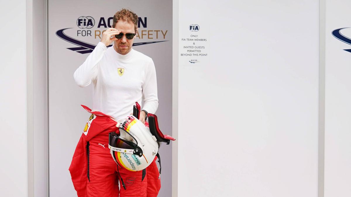 Renault hat Sebastian Vettel nicht unbedingt auf dem Zettel