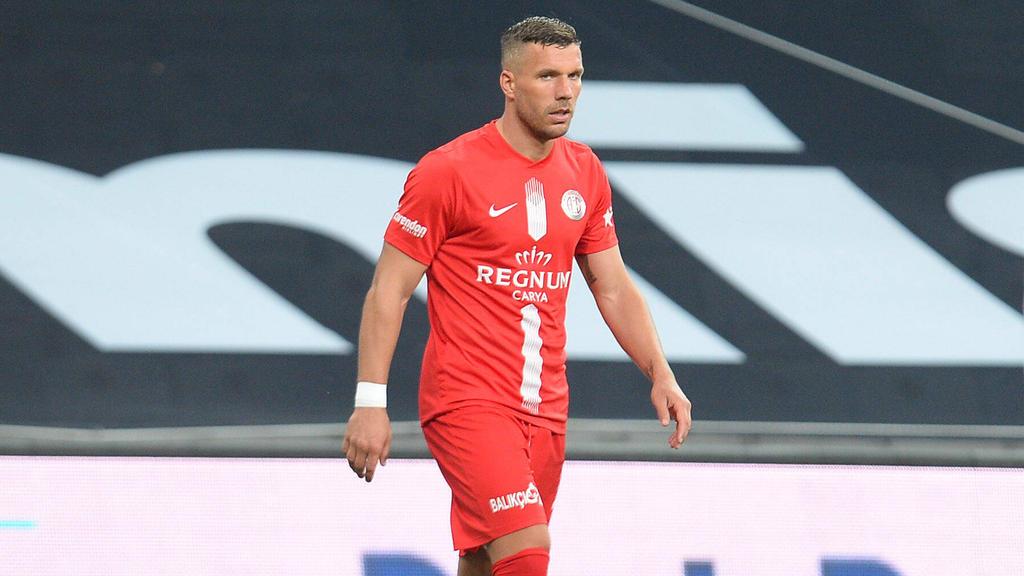 0:2-Pleite für Lukas Podolski und Antalyaspor