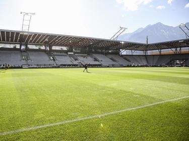 Sonnenschein über dem Innsbrucker Tivoli