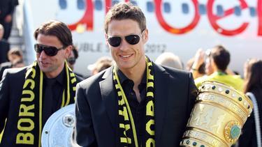 Sebastian Kehl und der BVB besiegten den FC Bayern im Pokalfinale 2012