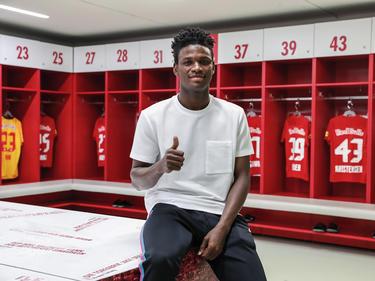 Samson Tijani soll in Hartberg erste Bundesligaerfahrung sammeln