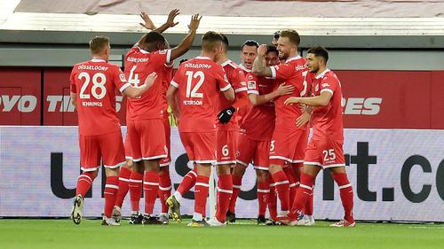 Düsseldorf klettert nach dem Sieg in der Tabelle