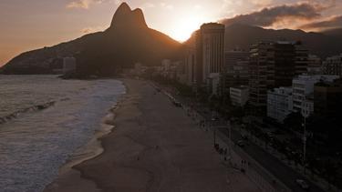 Teams aus Sao Paulo spielen im Staat Rio de Janeiro