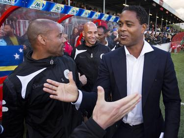 Patrick Kluivert trainiert seit März die Nationalmannschaft Curaçaos
