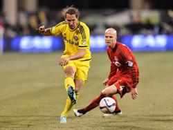 Emanuel Pogatetz (l.) spielt für Columbus Crew in der MLS