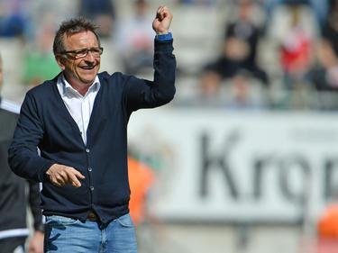 Darf sich auf seine neuen Talente freuen: Lilien-Coach Norbert Meier