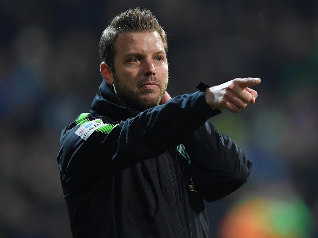 Da geht's lang: Florian Kohfeldt will mit Werder auch in Mönchengladbach punkten