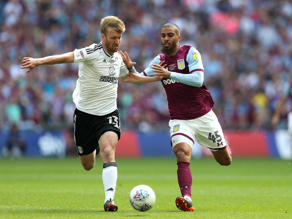 Für Fulham geht es künftig in die Premier League, Aston Villa muss weiterhin mit der Championship Vorlieb nehmen