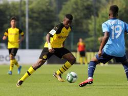 Youssoufa Moukoko gilt als größtes Talent in der BVB-Jugend