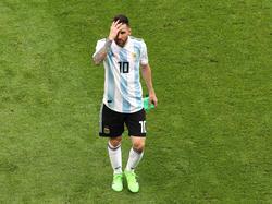 Lionel Messi schied mit Argentinien im WM-Achtelfinale gegen Frankreich aus