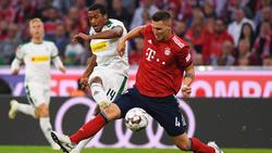 Alassane Pléa zeigte sich gegen die Bayern gnadenlos