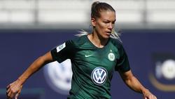 Lara Dickenmann hat ihren Vertrag beim VfL Wolfsburg verlängert