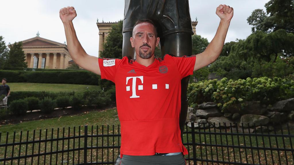 Franck Ribéry spielt seit 2007 beim FC Bayern