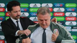 Martino el día de su presentación con México. (Foto: Getty)