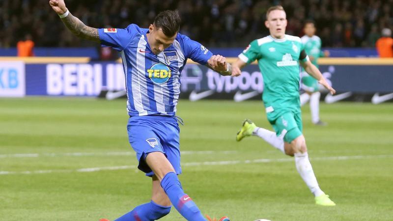 Davie Selke ist für das BVB-Spiel wieder eine Option