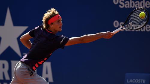 Auftakt-Aus in Barcelona für Alexander Zverev
