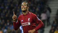 Virgil van Dijk gewinnt den Players' Player of the Year Award