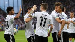 Die deutsche Nationalmannschaft überzeugte gegen Estland