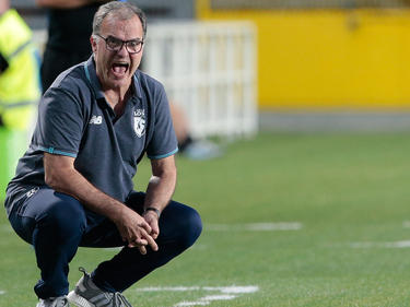 Marcelo Bielsa en un duelo de esta pasada pretemporada. (Foto: Getty)