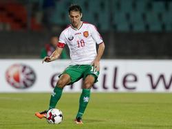 Ivelin Popov traf für Bulgarien zum 1:0-Sieg