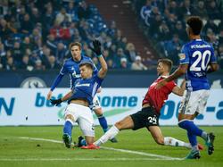 Niclas Füllkrug erzielte den späten Ausgleichstreffer auf Schalke