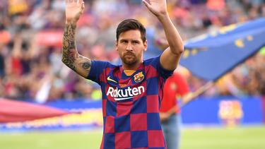 Der FC Barcelona hofft auf eine Messi-Rückkehr gegen Betis