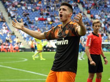 Maxi Gómez dio el triunfo al conjunto valenciano.