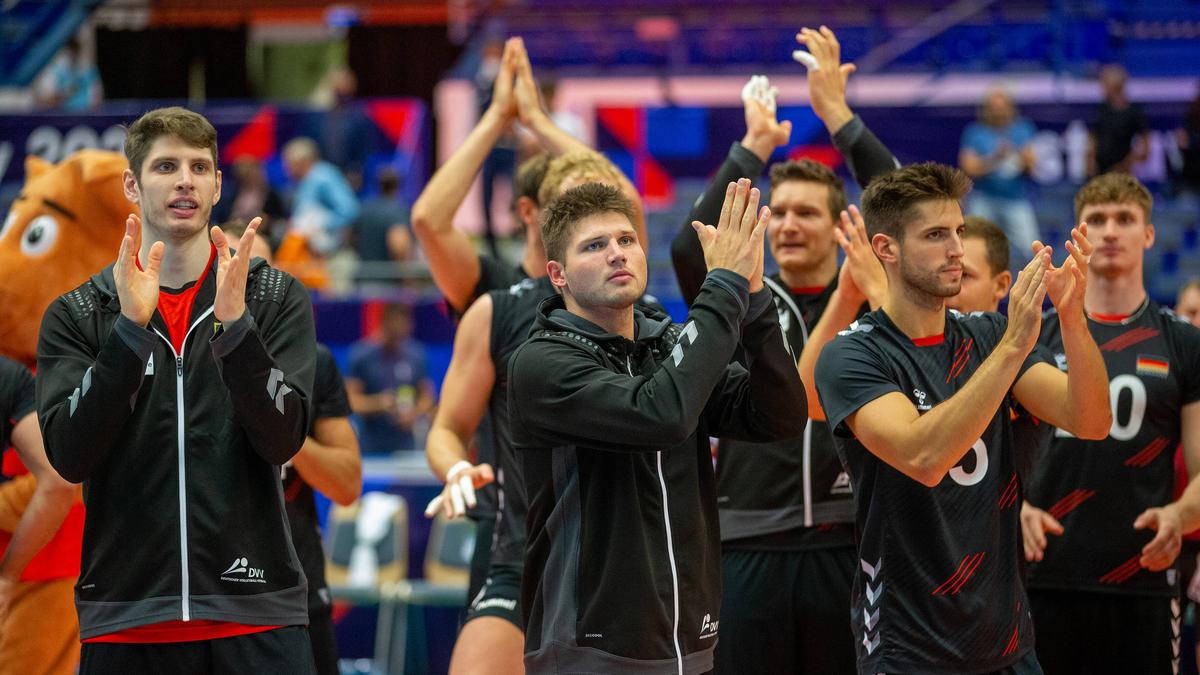 Die deutschen Volleyballer offen gegen Italien auf den nächsten Coup