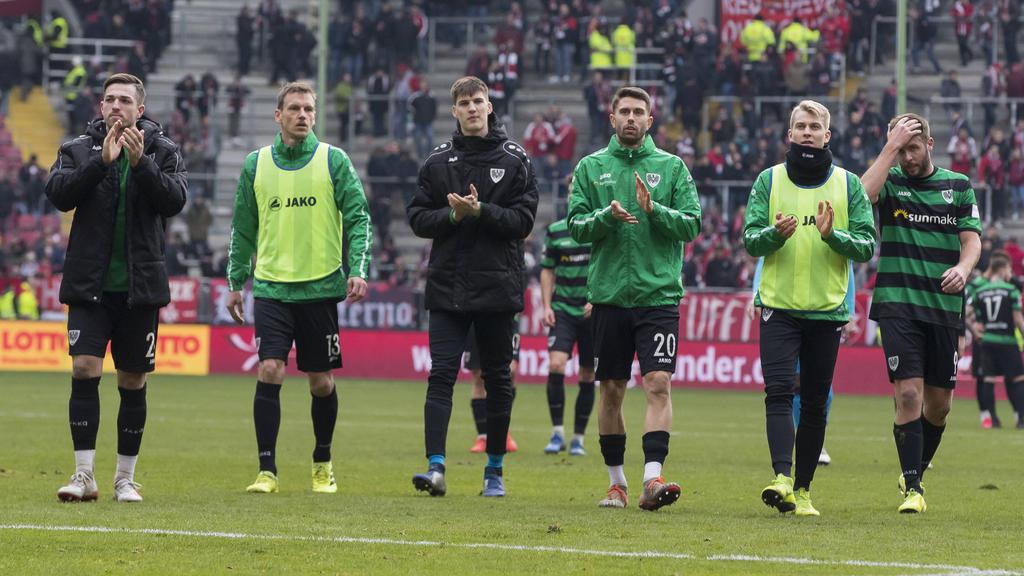 Preußen Münster kam in der 3. Liga nicht über ein Remis hinaus