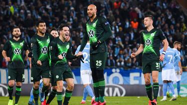 Der VfL Wolfsburg steht im Achtelfinale der Europa League