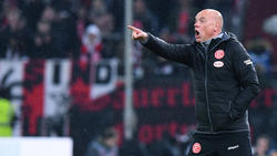 Uwe Rösler ist seit Ende Januar Trainer bei Fortuna Düsseldorf
