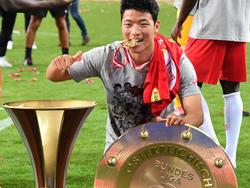 Hwang feierte Abschied mit Double