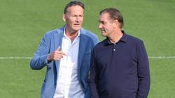 Die BVB-Bosse Watzke (l.) und Zorc haben einen neuen Cheftrainer installiert