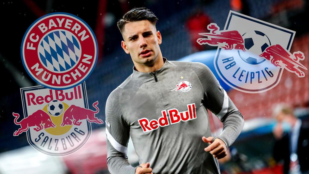 Dominik Szoboszlai wird von FC Bayern und RB Leipzig umworben