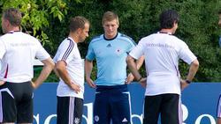 Trainer Hansi Flick vom FC Bayern und Toni Kroos waren lange Weggefährten