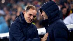 Thomas Tuchel (l.) und Zinédine Zidane stehen sich im Halbfinale der Champions League gegenüber