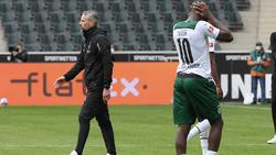 Marco Rose musste in seinem letzten Heimspiel als Gladbach-Coach eine Pleite hinnehmen