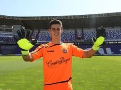 Kepa en una imagen de archivo con la camiseta del Valladolid. (Foto: Imago)