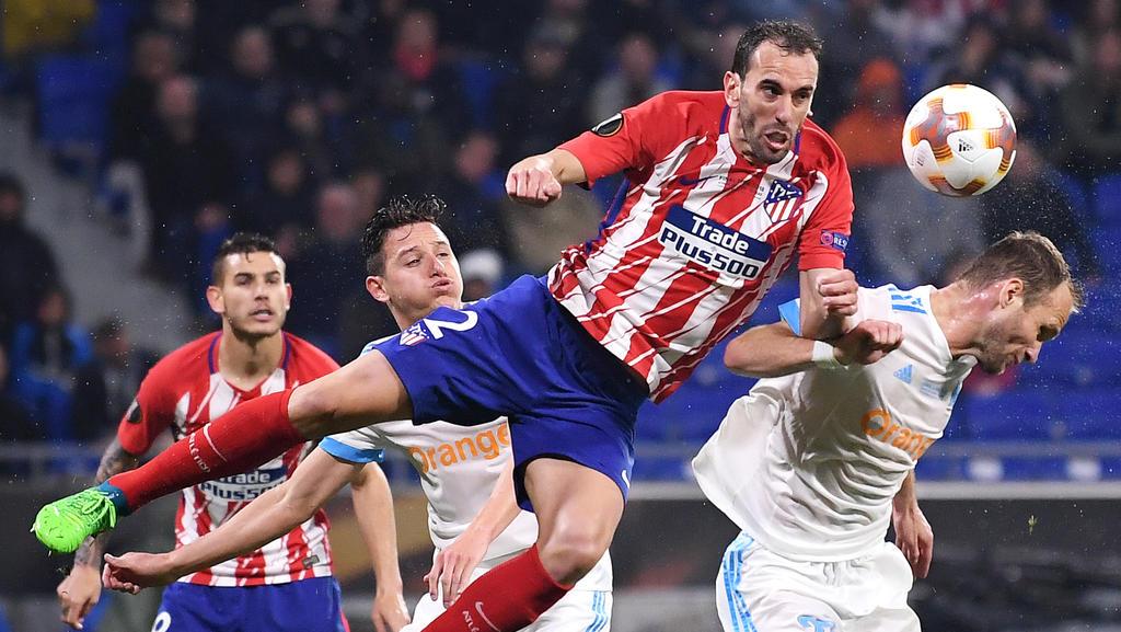 Diego Godin soll bei Juventus Turin auf der Einkaufsliste stehen