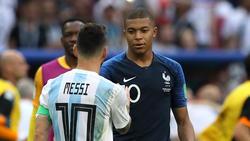 Lionel Messi enttäuschte, Mbappé überzeugt