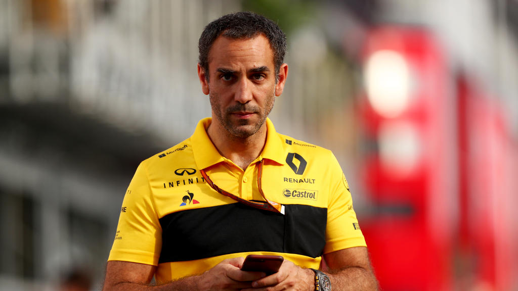 Renault-Boss Cyril Abiteboul meint: Die Uhr tickt