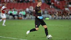 Bernd Leno hat beim FC Arsenal bislang keinen leichten Stand