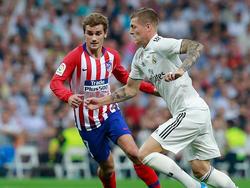 Griezmann gegen Kroos im Derby