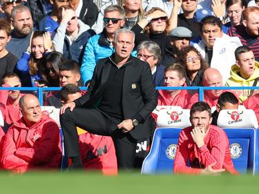 Da war er noch ruhig: José Mourinho