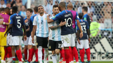 Mbappé y los franceses dejaron a Messi sin Mundial. (Foto: Getty)