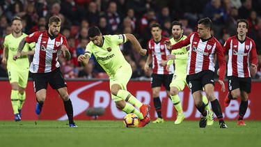 FC Barcelona patzt in La Liga bei Athletic Bilbao