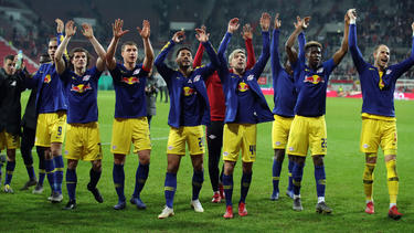 RB Leipzig will den DFB-Pokal gewinnen