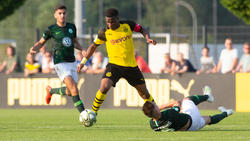 BVB-Youngster Youssoufa Moukoko (m.) gilt als Wunderkind