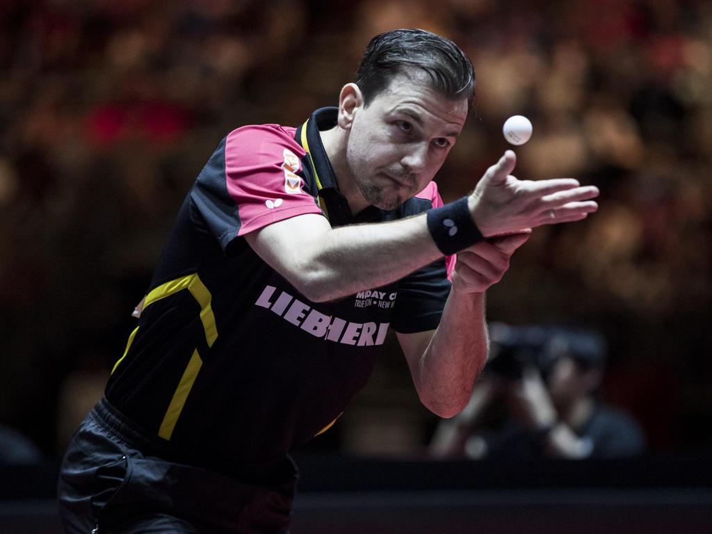 Timo Boll darf auch im Viertelfinale aufschlagen