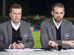 Lothar Matthäus (l.) und Christoph Metzelder haben das Hamburger Spiel analysiert